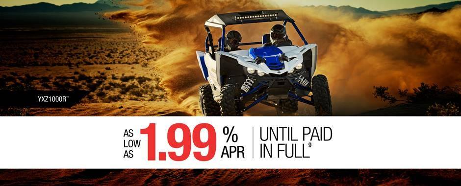 Yamaha - Current Offers - Pure Sport Side-By-Side